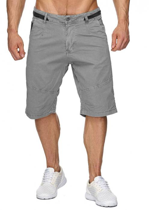 Max Men Herren Bermuda Shorts Capri 3/4 Hose Stretch H1930 – Bild 8
