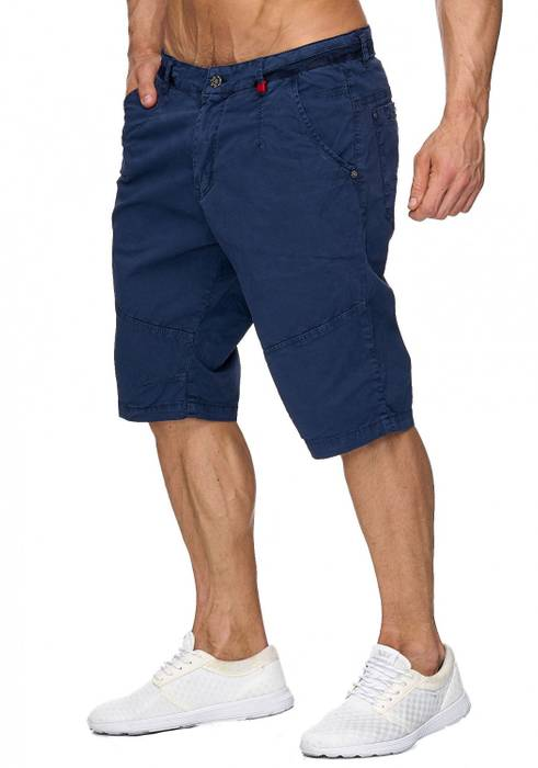 Max Men Herren Bermuda Shorts Capri 3/4 Hose Stretch H1930 – Bild 7