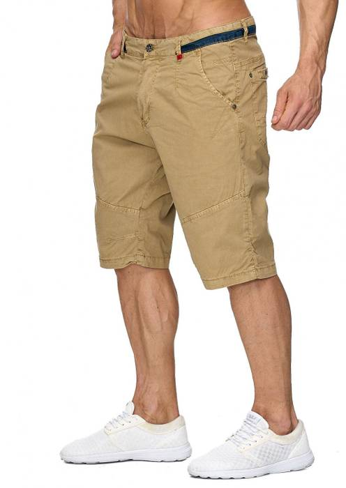 Max Men Herren Bermuda Shorts Capri 3/4 Hose Stretch H1930 – Bild 12