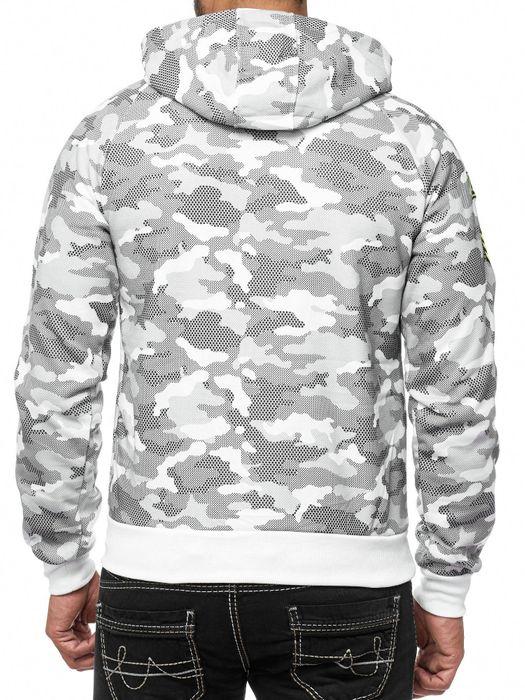 Herren Hoodie Camouflage Pullover Kapuze Muster H1994 – Bild 7