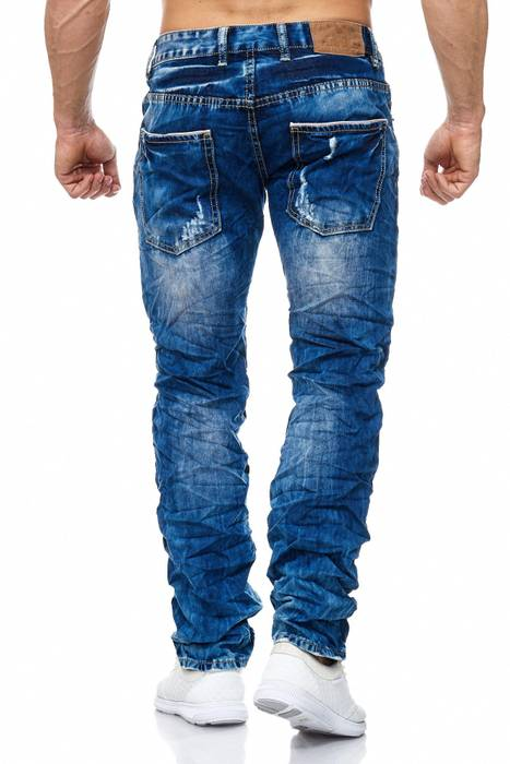 Herren Jeans Ripped Destroyed Hose H2007 – Bild 4