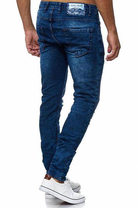 Herren Jeans Destroyed Amica Hose Ripped H2027 – Bild 3