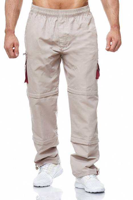 Herren Cargo Hose Variable Beinlänge Bermuda 3 Tragevarianten Shorts H2035 – Bild 2