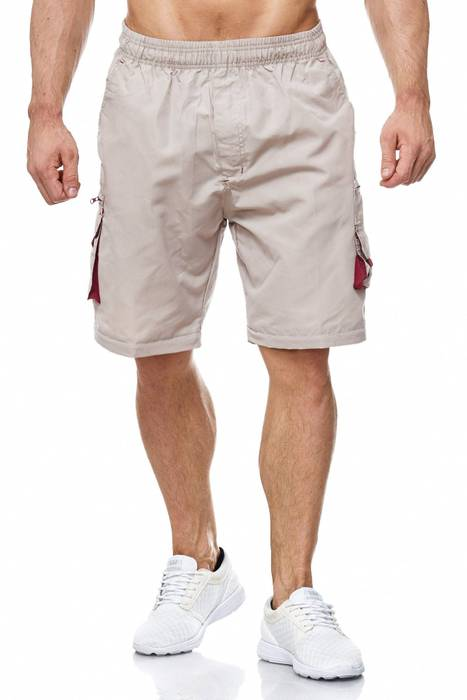 Herren Cargo Hose Variable Beinlänge Bermuda 3 Tragevarianten Shorts H2035 – Bild 6
