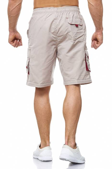 Herren Cargo Hose Variable Beinlänge Bermuda 3 Tragevarianten Shorts H2035 – Bild 7