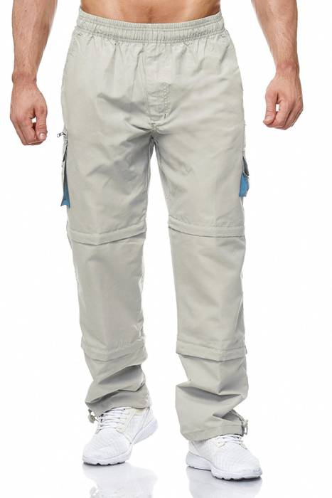 Herren Cargo Hose Variable Beinlänge Bermuda 3 Tragevarianten Shorts H2035 – Bild 18