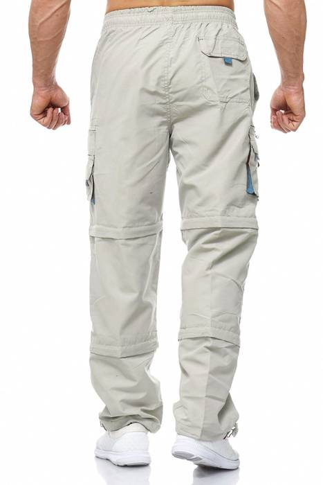 Herren Cargo Hose Variable Beinlänge Bermuda 3 Tragevarianten Shorts H2035 – Bild 20