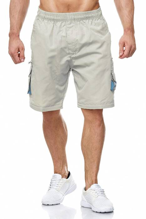 Herren Cargo Hose Variable Beinlänge Bermuda 3 Tragevarianten Shorts H2035 – Bild 21