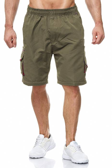 Herren Cargo Hose Variable Beinlänge Bermuda 3 Tragevarianten Shorts H2035 – Bild 11