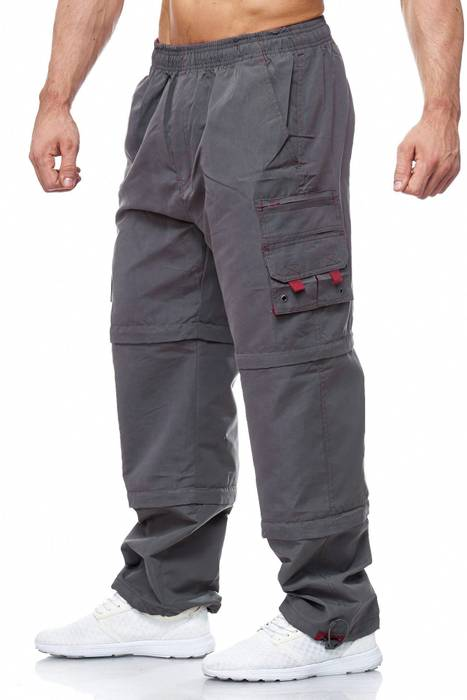 Herren Cargo Hose Variable Beinlänge Bermuda 3 Tragevarianten Shorts H2035 – Bild 23