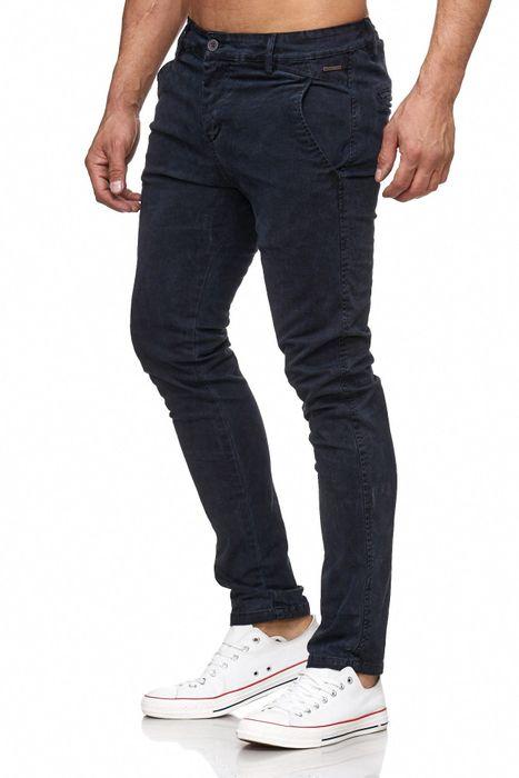 Herren Chino Hose Vintage Used Jeans Hose Gemustert H2105 – Bild 9