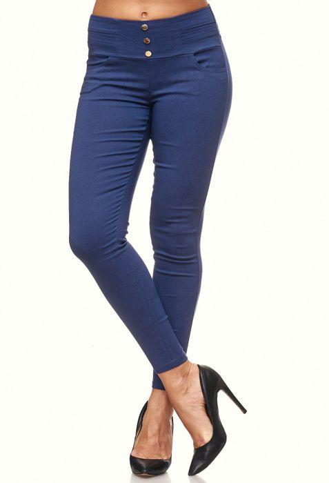 Damen Treggings Skinny Jeans Jeggings Stretch Hose D2119 – Bild 20
