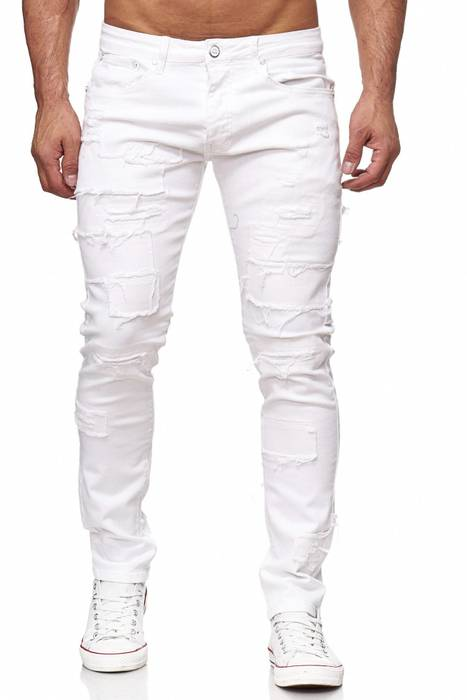 Herren Jeans Ripped Destroyed Denim Hose H2150 – Bild 8