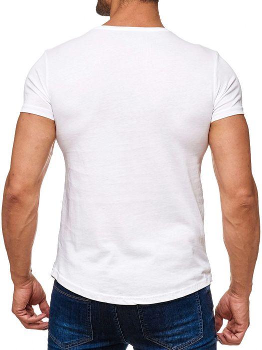 Herren T Shirt AC/DC Rosen Print Kurzarm H2164 – Bild 4