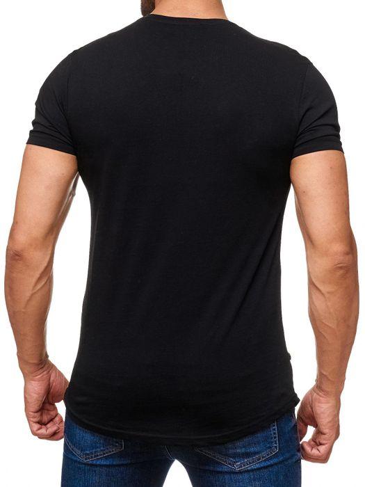 Herren T Shirt Ripped Long Tee Destroyed H2165 – Bild 7