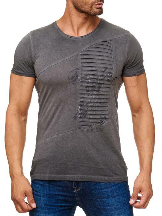 Herren T Shirt Motiv Allover Print Inspire Floral H2168 – Bild 8