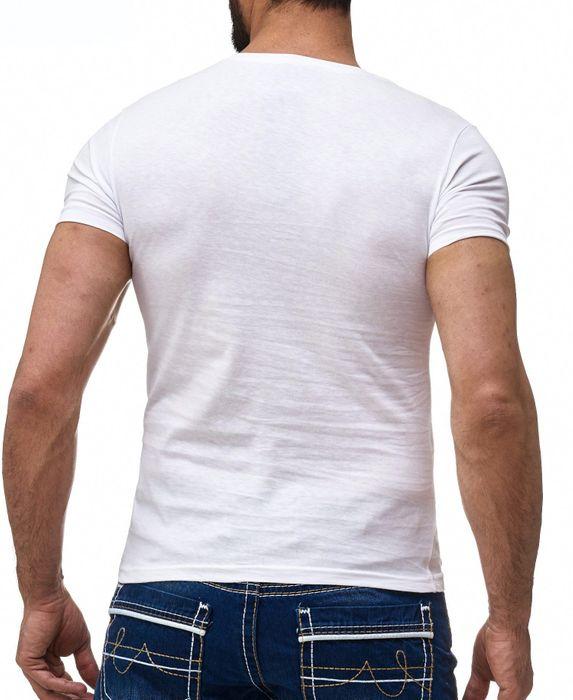 Herren T Shirt Short Sleeve Aufdruck Motiv NICE Print H2178 – Bild 4