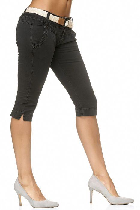 Fresh Made Damen Bermuda Shorts Bermuda Chino Shorts D2183 – Bild 4