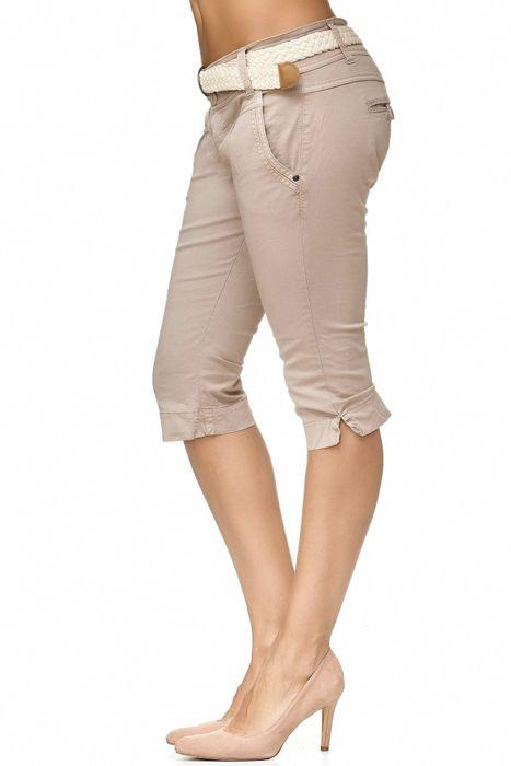 Fresh Made Damen Bermuda Shorts Bermuda Chino Shorts D2183 – Bild 11