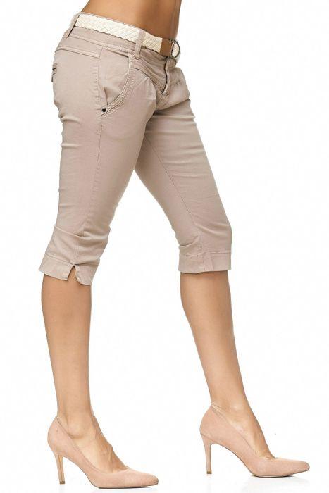 Fresh Made Damen Bermuda Shorts Bermuda Chino Shorts D2183 – Bild 12