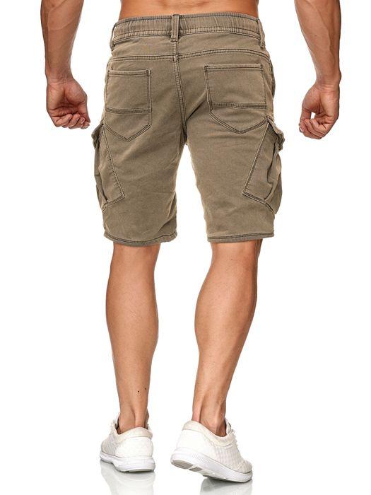Urban Surface Herren Cargo Shorts Sweat Jeans Bermuda JoggDenim Stretch H2184 – Bild 15