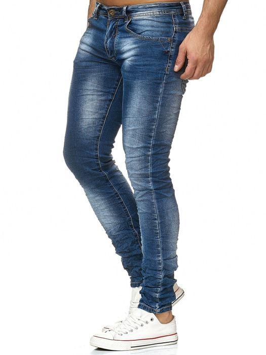 Herren Jeans Hose Used Vintage Denim H2196 – Bild 4