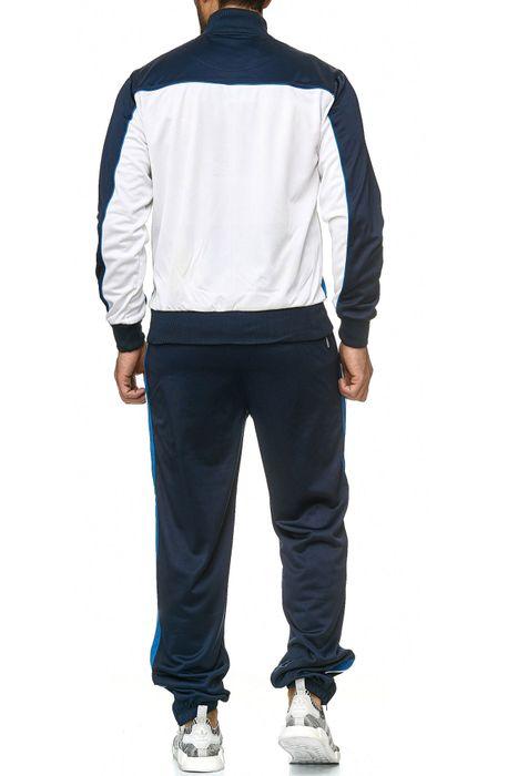 Herren Trainingsanzug Sweat Sport Kombi Zweiteiler Jogginganzug H2218 – Bild 8