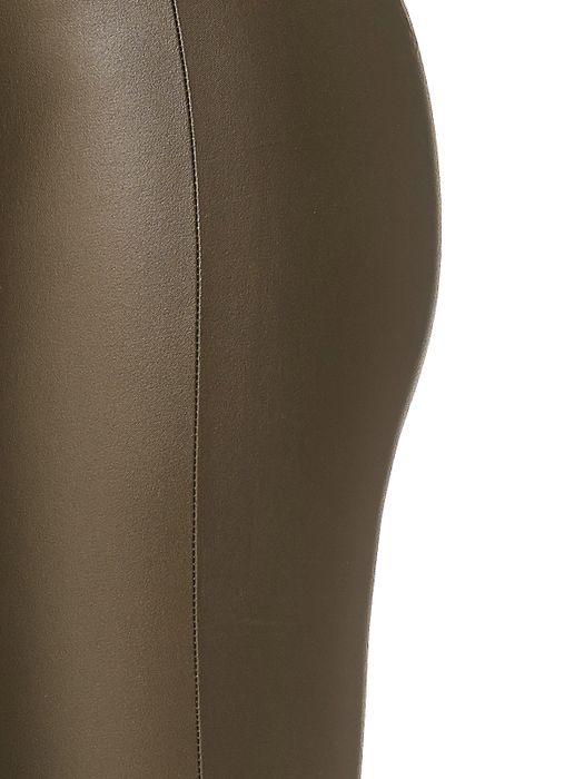 Damen Lederhose Kunstleder Stretch Skinny Treggings D2220 – Bild 6