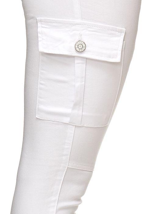 Damen Treggings Cargo Stretch Skinny Jeans Hose D2222 – Bild 21