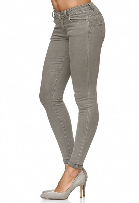 Damen Treggings Push Up Jeans Effekt Hose Skinny D2223 – Bild 8