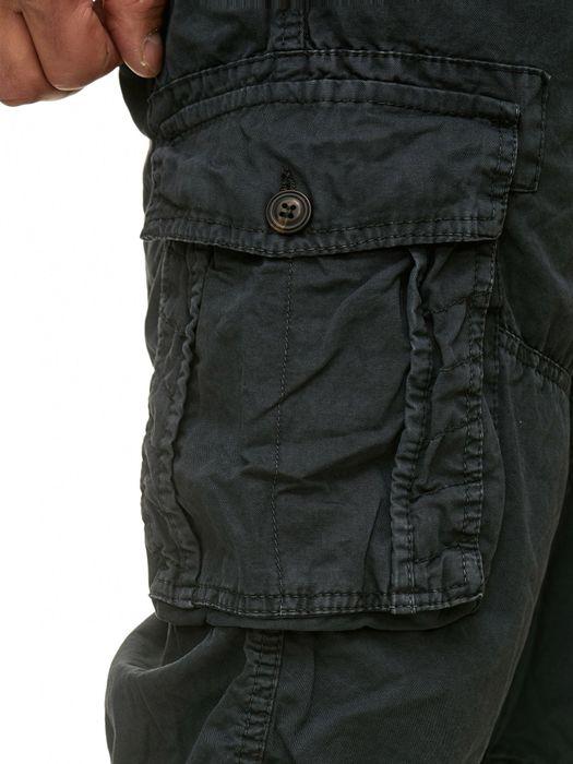Herren Cargo Shorts Kurze Bermuda Hose 100% Baumwolle inklusive Gürtel H2260 – Bild 9