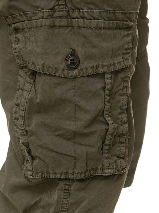 Herren Cargo Shorts Kurze Bermuda Hose 100% Baumwolle inklusive Gürtel H2260 – Bild 14