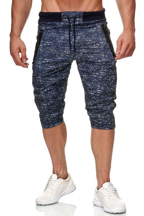Max Men Herren Kurze Sweat Pants Jogging Sport Hose H2287 – Bild 2
