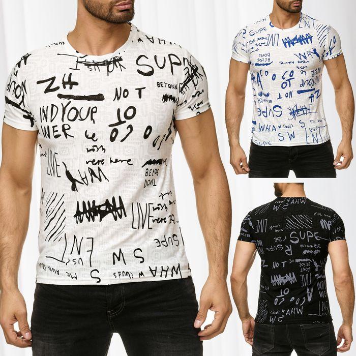 Herren T-Shirt SCRIPT