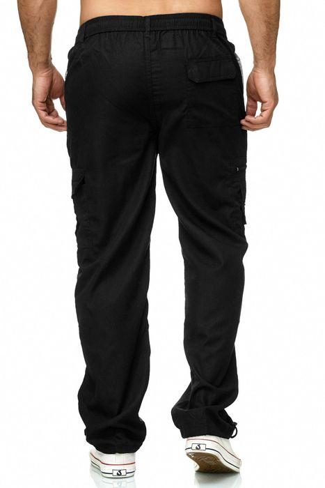 Max Men Herren Cargo Hose Stoffhose Trekking Pants Dehnbund H2301 – Bild 19