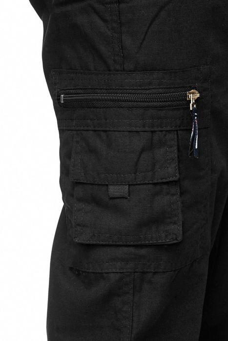 Max Men Herren Cargo Hose Stoffhose Trekking Pants Dehnbund H2301 – Bild 20