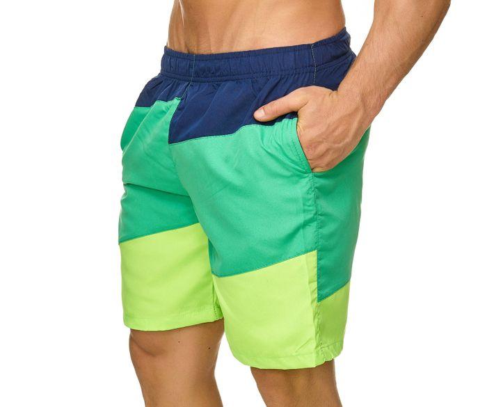 Topway Herren Badehose Bunte Bermuda Shorts Kurze Schwimmhose H2302 – Bild 12