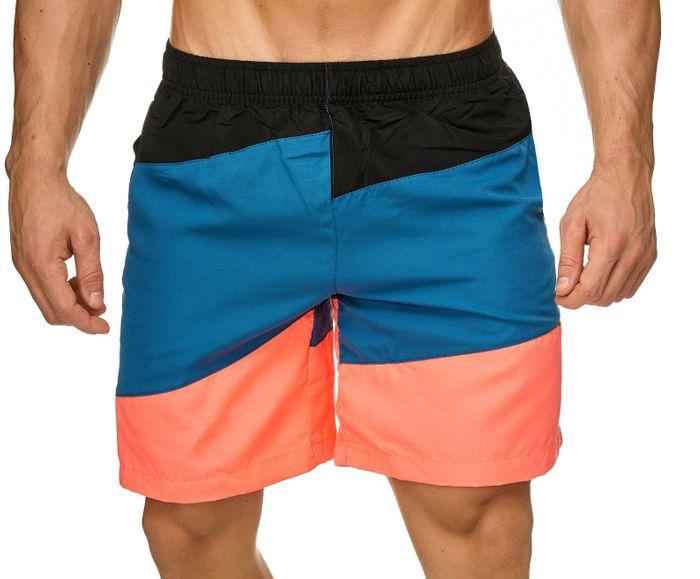 Topway Herren Badehose Bunte Bermuda Shorts Kurze Schwimmhose H2302 – Bild 5