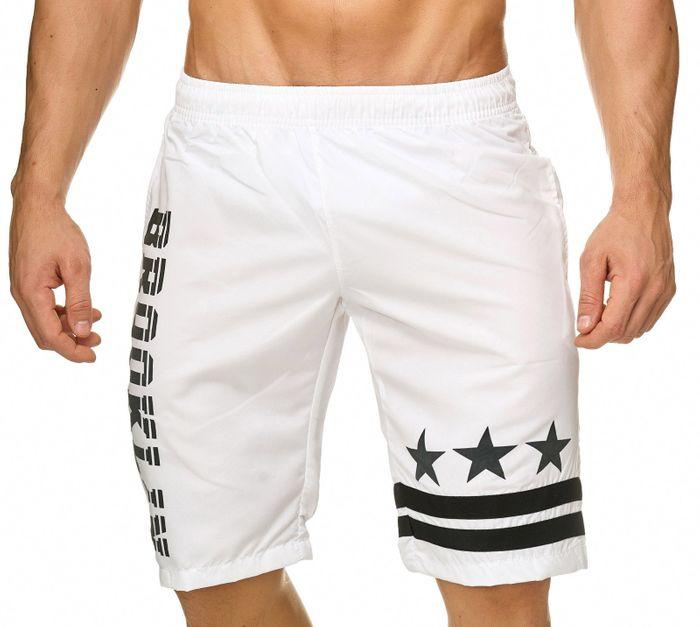 Topway Herren Badehose Kurze Bermuda Shorts Bunte Schwimmhose H2305 – Bild 5