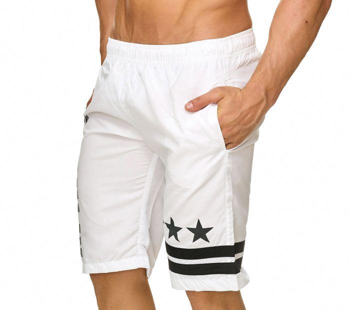 Topway Herren Badehose Kurze Bermuda Shorts Bunte Schwimmhose H2305 – Bild 6