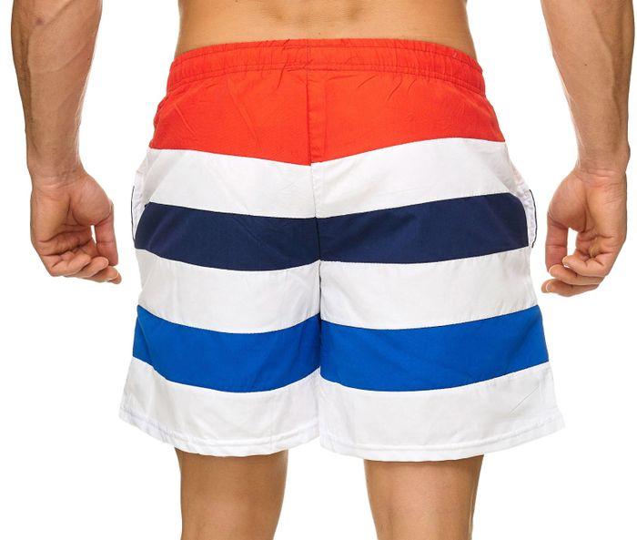 Topway Herren Badehose Kurze Bermuda Shorts Bunte Schwimmhose H2306 – Bild 13