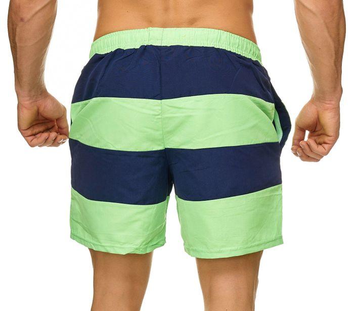 Topway Herren Badehose Kurze Bermuda Shorts Bunte Schwimmhose H2308 – Bild 4