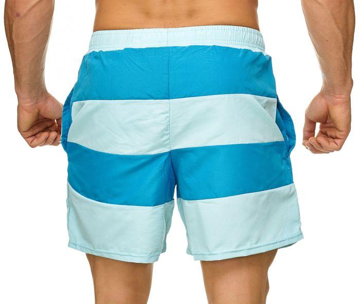 Topway Herren Badehose Kurze Bermuda Shorts Bunte Schwimmhose H2308 – Bild 10