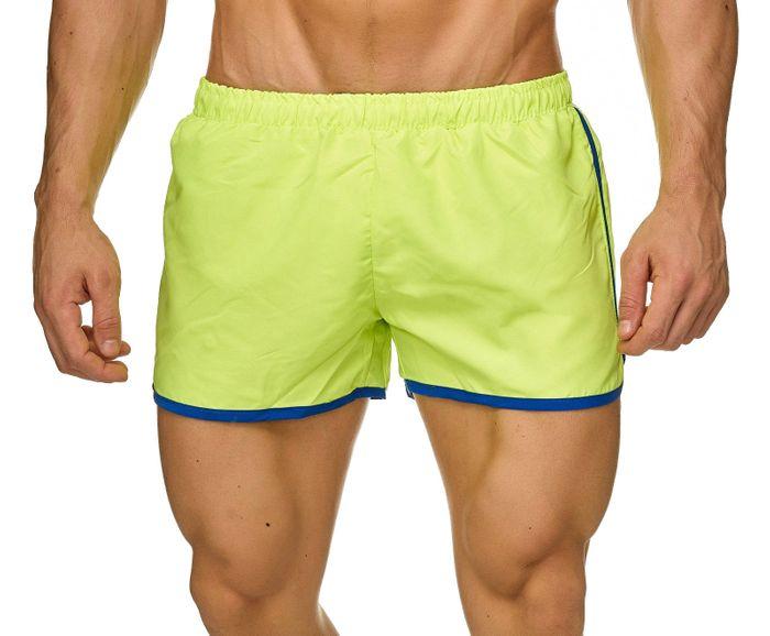 Topway Herren Badehose Kurze Bermuda Shorts Bunte Schwimmhose H2309 – Bild 8