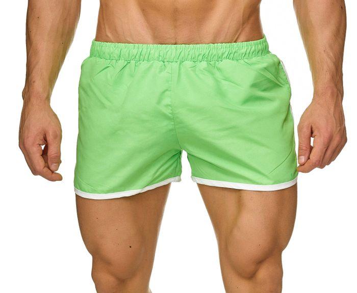 Topway Herren Badehose Kurze Bermuda Shorts Bunte Schwimmhose H2309 – Bild 14