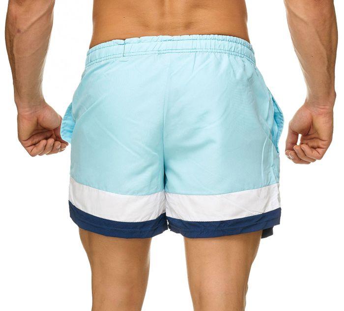 Topway Herren Badehose Kurze Bermuda Shorts Bunte Schwimmhose H2310 – Bild 10