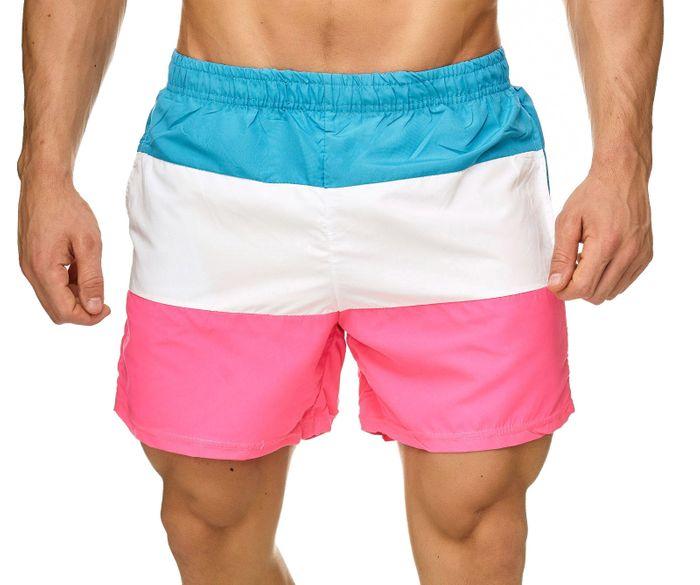 Topway Herren Badehose Kurze Bermuda Shorts Bunte Schwimmhose H2312 – Bild 8