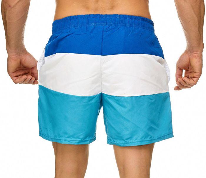 Topway Herren Badehose Kurze Bermuda Shorts Bunte Schwimmhose H2312 – Bild 4