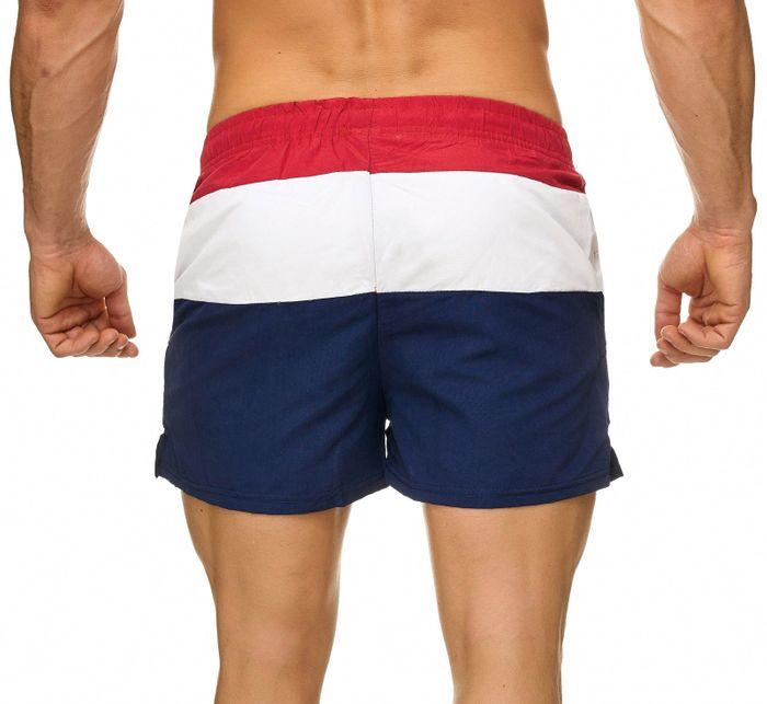Topway Herren Badehose Kurze Bermuda Shorts Bunte Schwimmhose H2313 – Bild 7