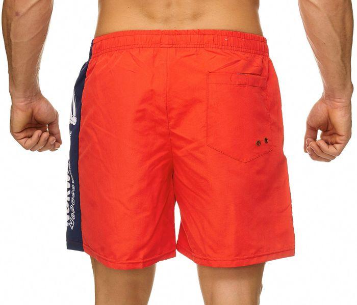 Topway Herren Badehose Bunte Bermuda Shorts Kurze Schwimmhose H2314 – Bild 4